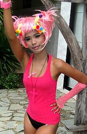 Emo Cosplay Thai